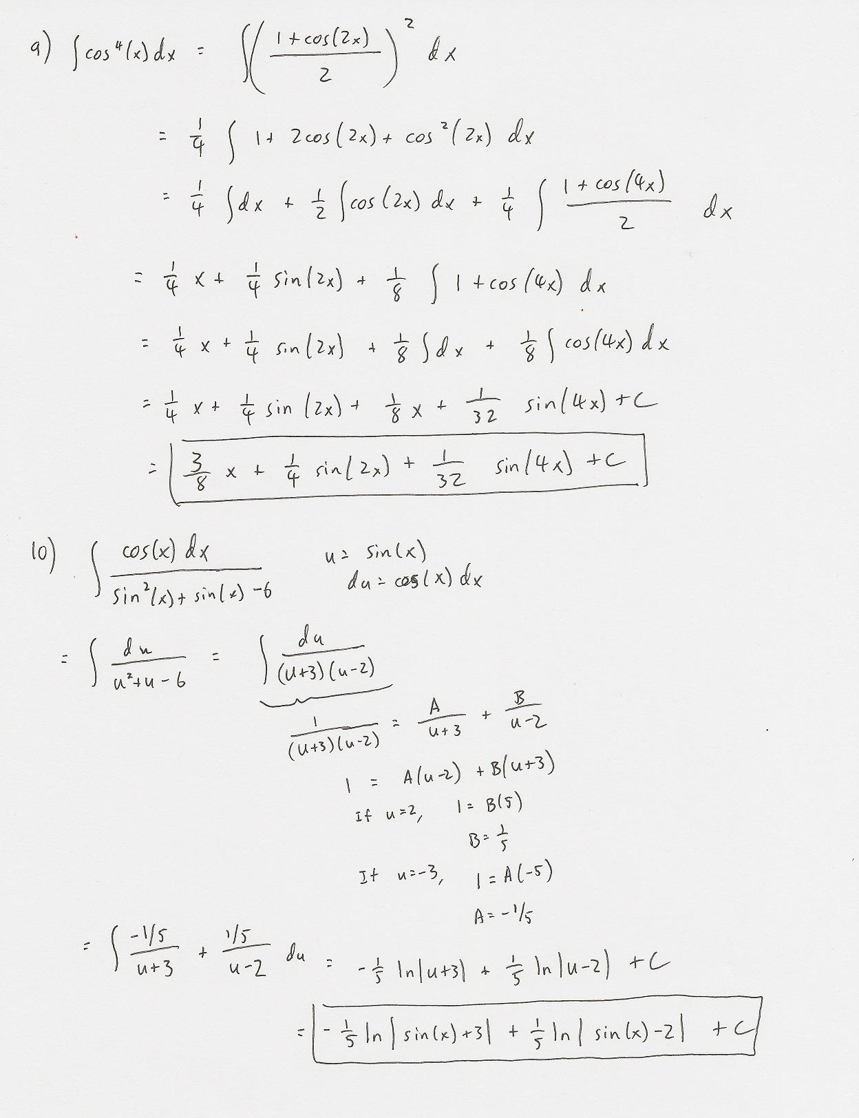 worksheet Integration By Parts Worksheet page5 jpg