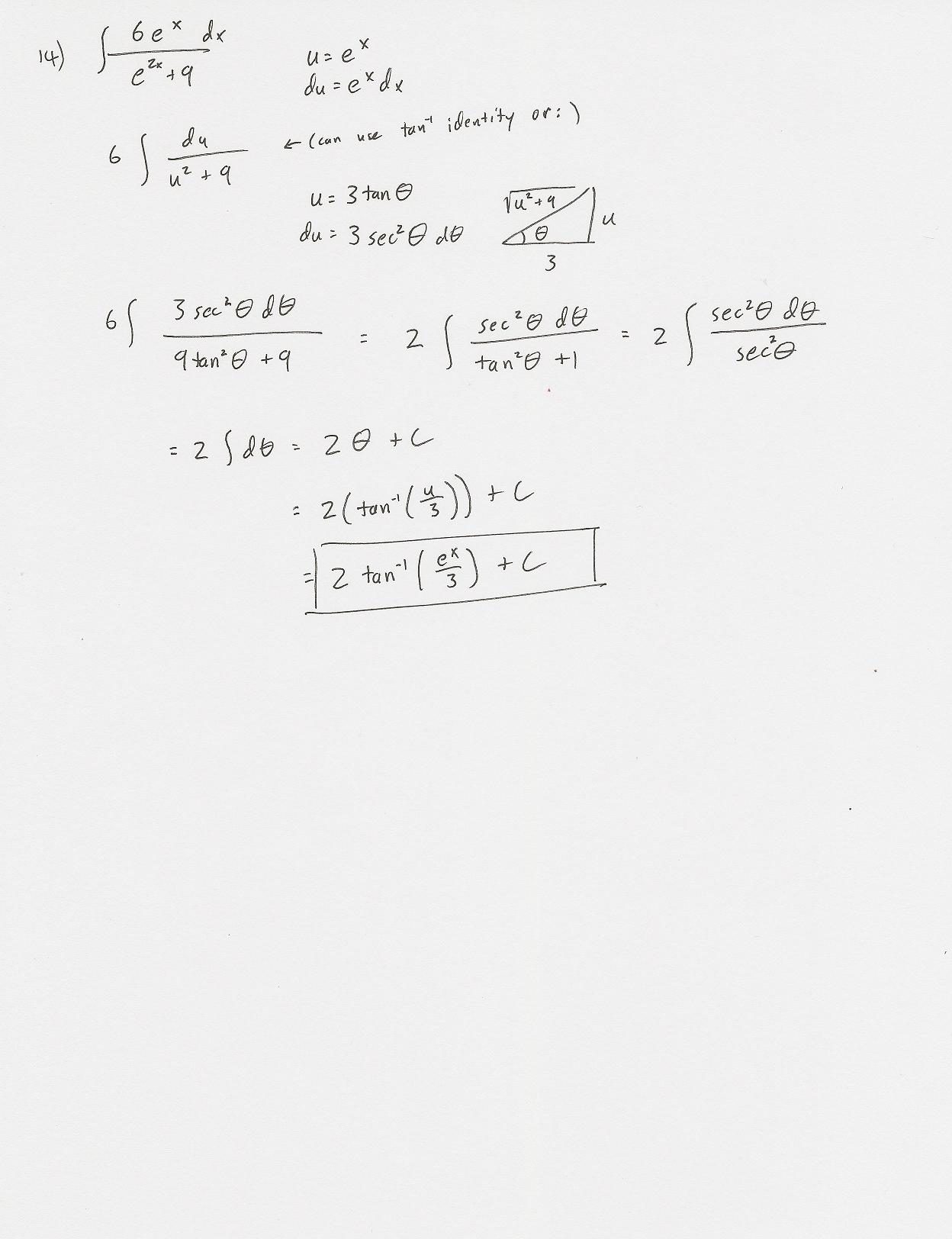 worksheet Integration By Parts Worksheet page7 jpg