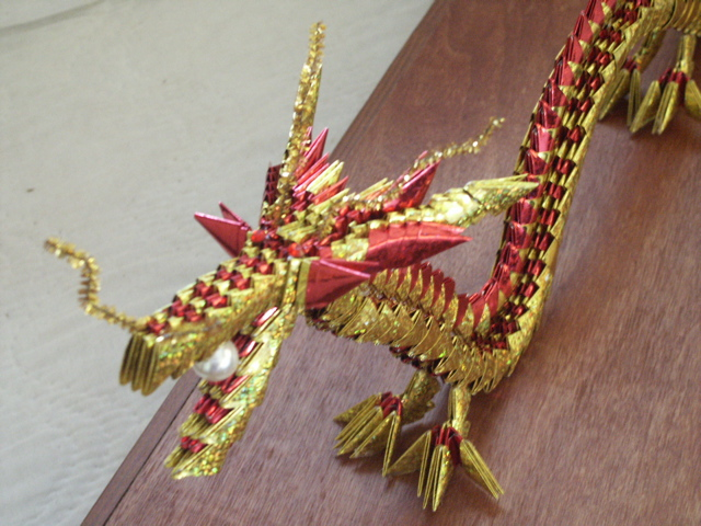 Origami Death Dragon Head Tutorial (Henry Pham) - YouTube | 480x640